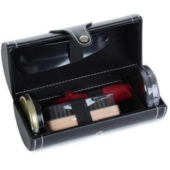 Brown Mad Man Shoe Shine Kit