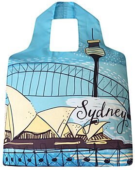 Sydney Harbour SAKitToMe re-usable shopping bag