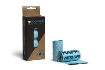 ZEE DOG POOP BAG REFILL BOX 4PACK
