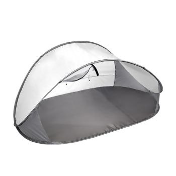 Mountview Pop Up Portable Camping Beach Tent in Grey Colour