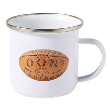 Don's Football Enamel Mug