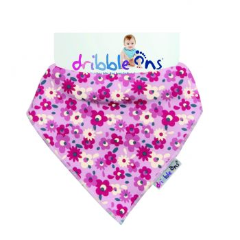 DRIBBLE ONS Pink Floral