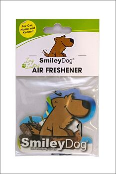 Smiley Dog Air Freshener Pack Coconut (10 units)