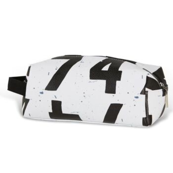 Scoreboard Numbers White Toilet Bag