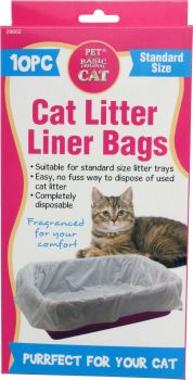 Cat Litter Liner Bags 10pc