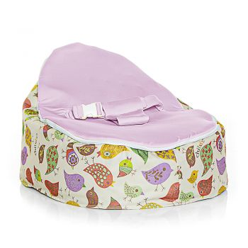 Chibebe Chirpy Baby Bean Bag - Grape