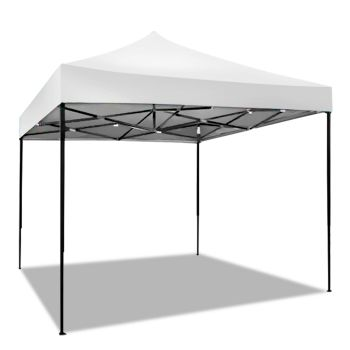 Mountview Pop Up Gazebo Outdoor Canopy 3x3M in White Colour