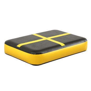 0.6M X1M Block Inflatable Mat Airtrack Air Gymnastics in Yellow
