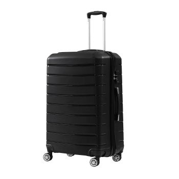 "28"" Travel Luggage Expandable Suitcase Trolley Lightweight in Black"