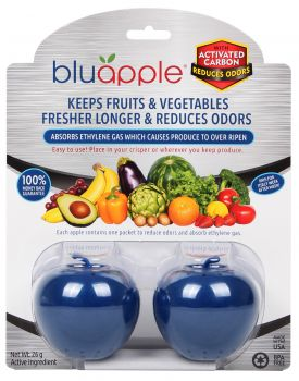 BLUAPPLE® with ACTIVATED CARBON 2x Bluapples (with Satchels)