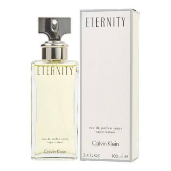 Eternity by CALVIN KLEIN for Women (100ml) Eau de Parfum-BOTTLE