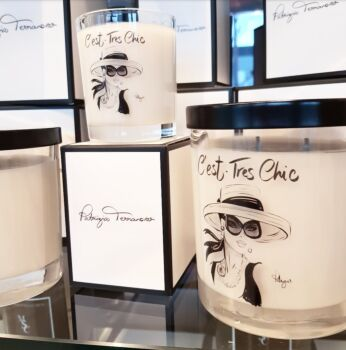 Luxury Soy Candles -C'est Tres Chic 300 grams