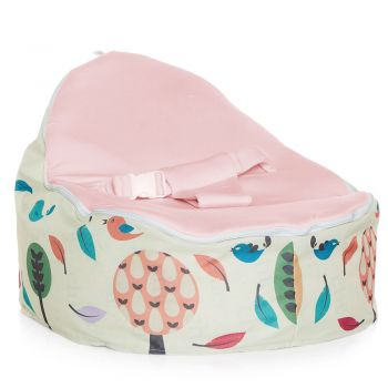 Chibebe Woodlands Baby Bean Bag - Pink