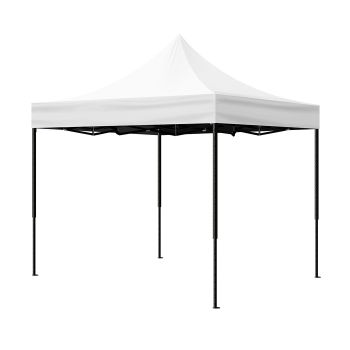 Mountview Pop Up Gazebo Outdoor Camping Tent 3x3M in White Colour