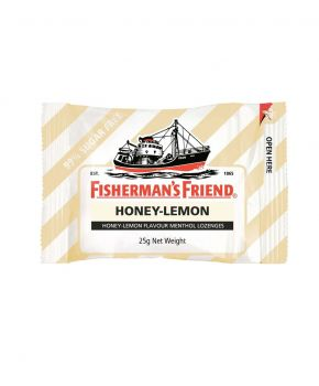 Fisherman's Friend Honey Lemon Sugar Free, 12 x 25g