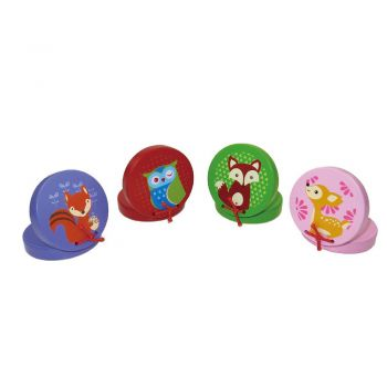 Animal Castanets 12pc/sets