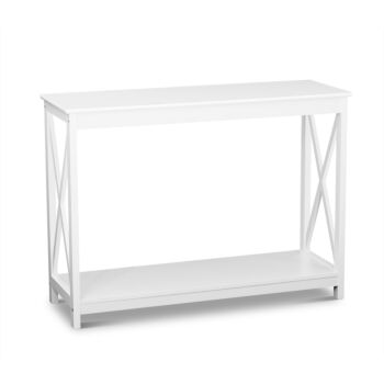 Hamptons Console Table White
