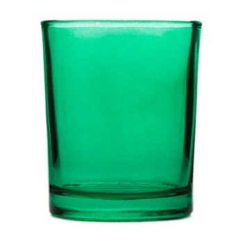 24 Pack - Green Glass Tealight Cup Shot Candle Holder - Jade Green Party Event Reception Company Theme