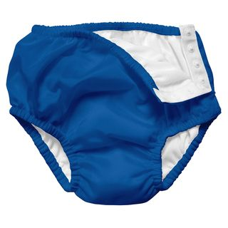 Snap Reusable Absorbent Swimsuit Diaper-Royal Blue