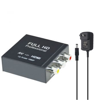 Input RCA Analog/Digital AV Composite To HDMI Output Converter