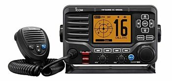 Icom IC-M506GE Marine VHF DSC Radio with built in AIS, GPS Receiver & NMEA2000