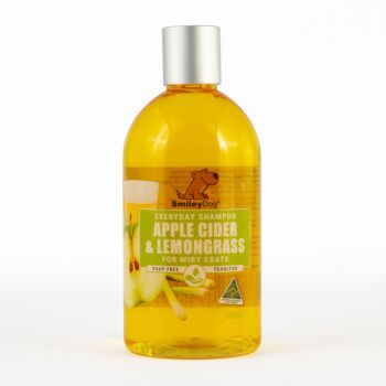 Smiley Dog Natural Apple Cider with Lemongrass Shampoo 500ml