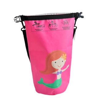 4L Waterproof Storage Kids Small Beach Bag in Pink