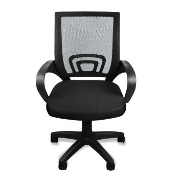 2x Office Ergonomic Mesh Computer Gaming Chair with Wheels in Black