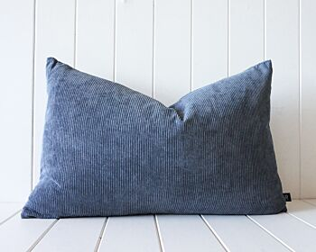 Indoor Cushion - Feather Insert - Slate Corduroy - 60x40
