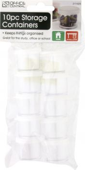 Containers Storage 10ml 10pc