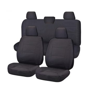 Canvas Seat Covers for VOLKSWAGEN AMAROK 2H SERIES 02/2011-ON DUAL CAB UTILITY