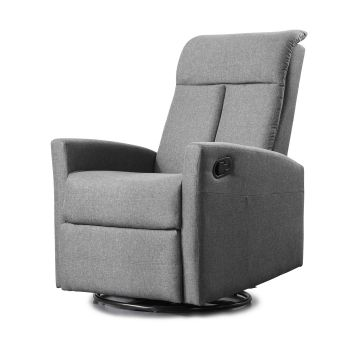 Levede Recling Lounge Fabric Padded Arm Chair