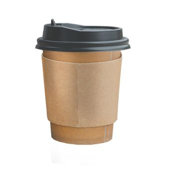 Disposable Takeaway Coffee Cups With Lids 100pcs 16oz