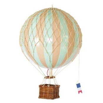 Authentic Models Travels Light Hot Air Balloon Model - Mint