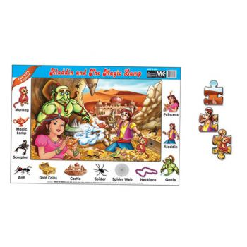 FUN WITH PUZZLES ALADDIN AND THE MAGIC LAMP