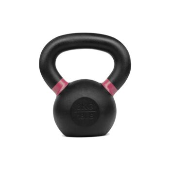 Verpeak Cast Iron Kettlebell Powder Coated Dumbbell Weight Lifting Gym Crossfit 8KG