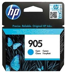 HP No. 905 Cyan Ink Cartridge - Estimated Page Yield 315 pages - T6L89AA