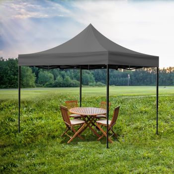 Mountview Gazebo Pop Up Marquee 3x3m Canopy Wedding Tent Outdoor Camping Party
