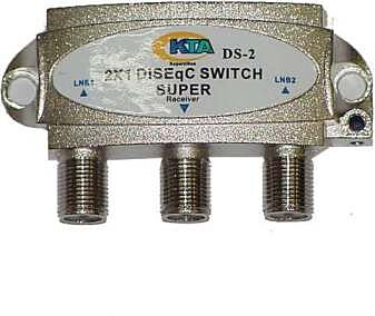 Clearview 2 Input Diseqc Switch