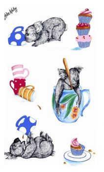 Tea Towel - Koala Cup KTP