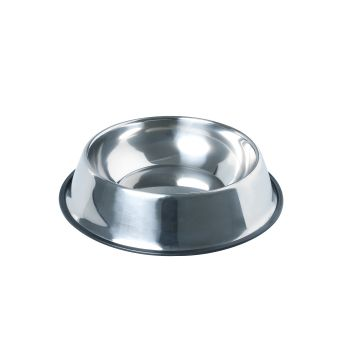 PaWz Pet Bowl Stainless Steel Water Bowls Portable Non Tip Slip Feeder Dog XXL