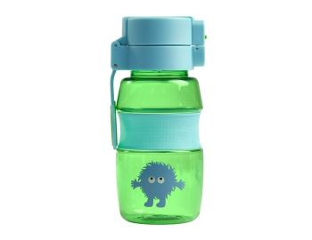 Tiny Tincs Flip and Clip Water Bottle - Green/Blue