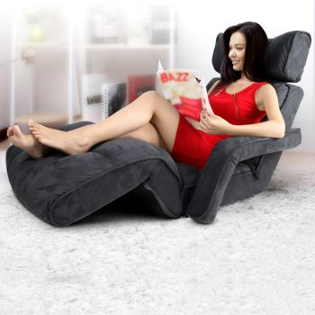 Lounge Sofa Floor Armchair Folding Chaise Chair Adjustable Recliner