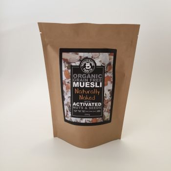 Organic Grain Free Muesli - Naturally Naked 200g (WS)