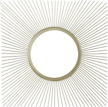 LUNA SQUARE GOLD MIRROR 50.5X50.5X1.5CM