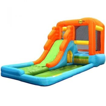 Happy Hop Inflatable Water Slide Water Park Jumping Castle Bouncer Waterslide