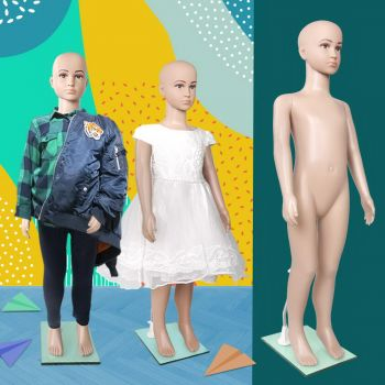 Child Mannequin Full Body Kids Clothes Display Torso Dressmaking Window Showcase
