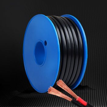 3MM 17AWG Electrical Cable Wire Electric 30M Length Twin Core Cables Extension Caravan 450V 2 Sheath