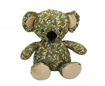 Toy Koala - Eucalyptus leaf design (Winter)