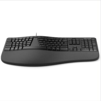 Microsoft Ergonomic Keyboard Black